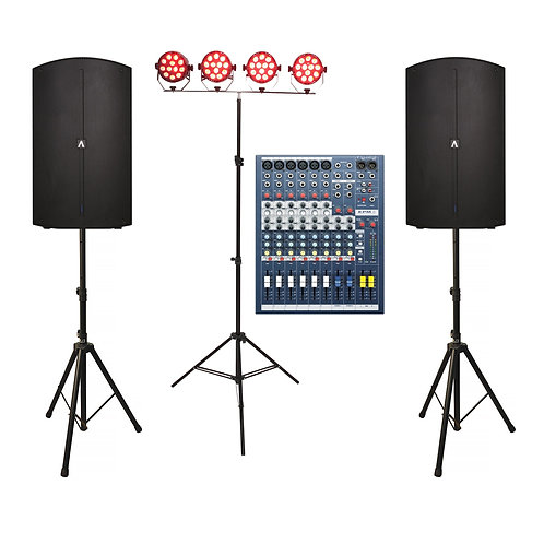 Band Sound & Lighting Package 1