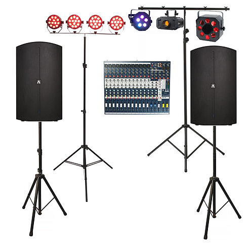Band Sound & Lighting Package 2