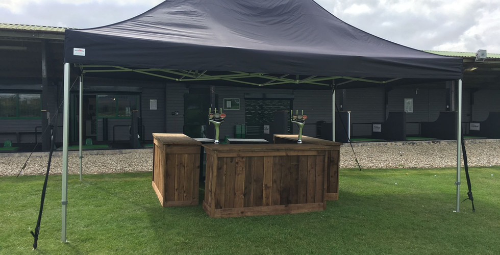 Outside Bar Roof Hire