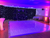 Blue Starlight dancefloor Hire Glouceste