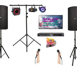 Karaoke Disco Package Hire