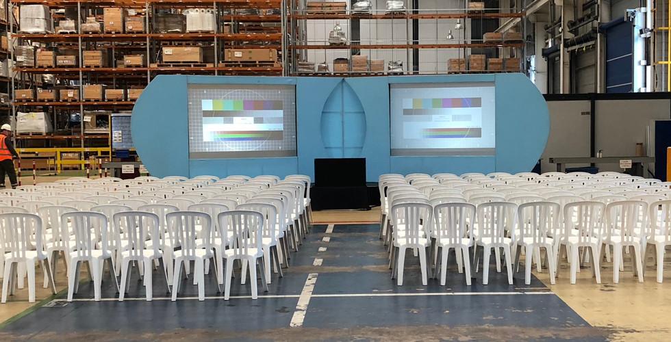 conference hire projectors