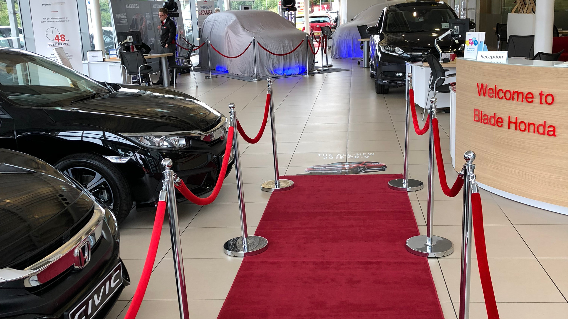 Red Carpet Entrance Hire