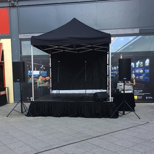 Outdoor Mini Stage Hire