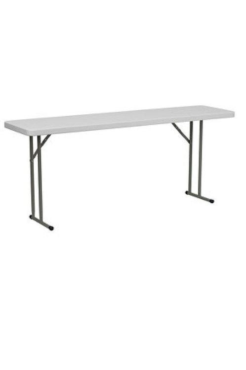 6ft x 1ft Trestle Table