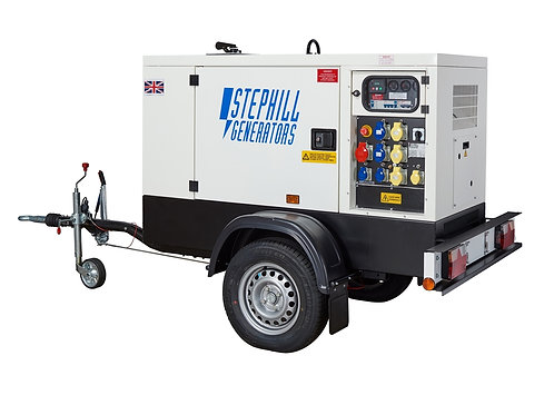 16KVA Silenced Diesel Generator