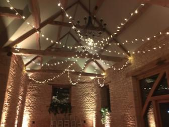 Fairy Lighting Barn at upcote 3.JPG