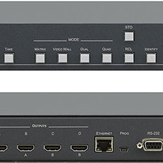 Video switcher / Scaler 4x4 Port HDMI