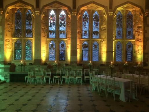 Berkeley Castle Lighting Hire