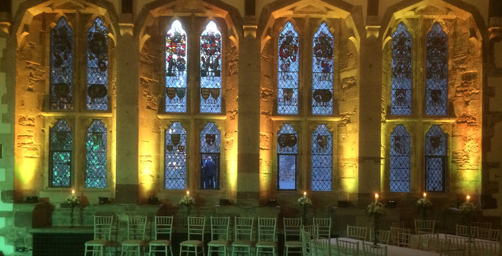 Berkeley Castle Lighting Hire