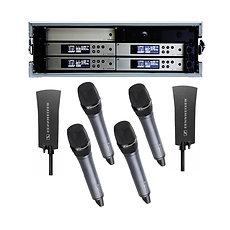 Sennheiser Radio Mic Handheld (4 Way + Distro)