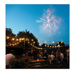 8 Way Outdoor Festoon Canopy 10m x 10m