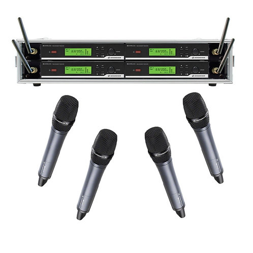 Sennheiser Radio Mic Handheld (4 Way)