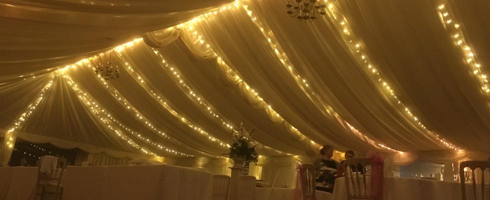 Hatton Court Hotel Fairy lighting