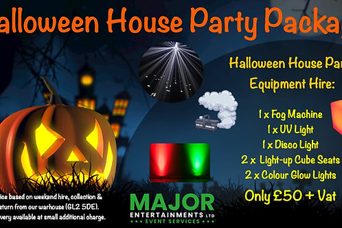 Halloween House Party Package