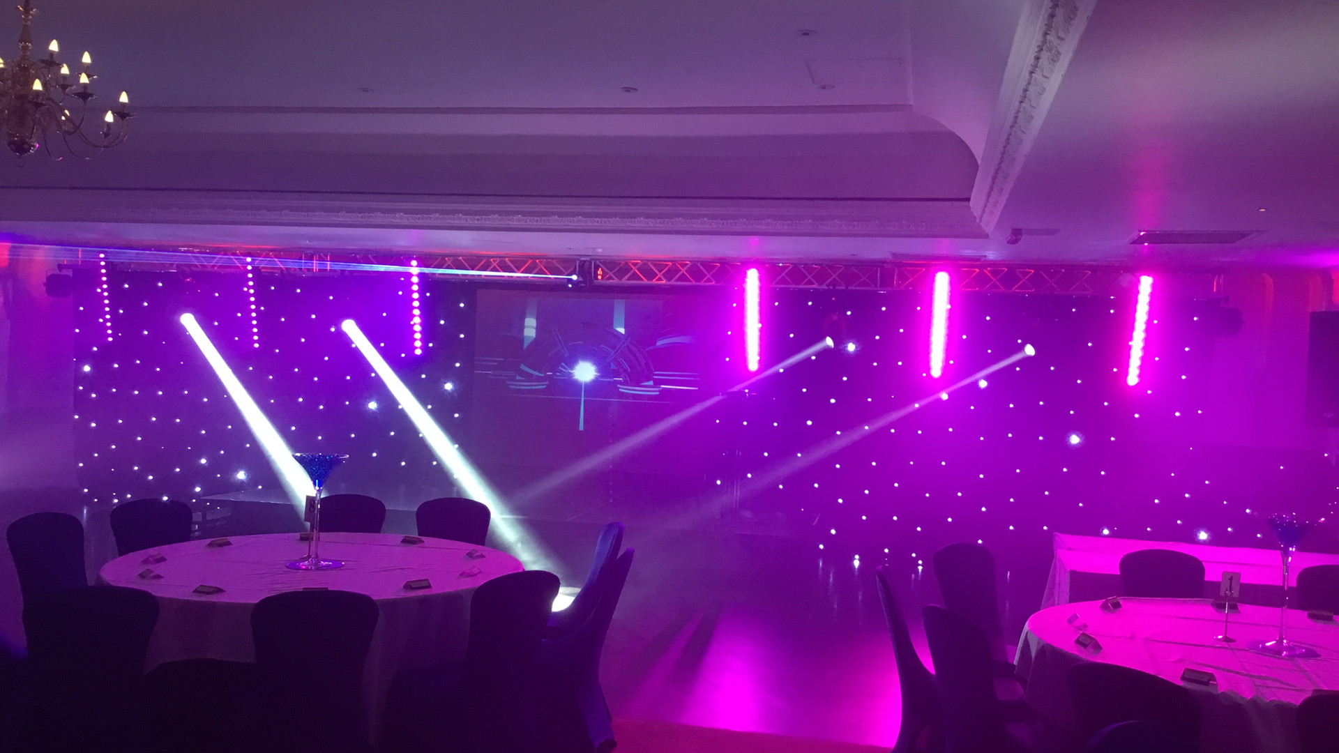 Awards evening set up Hire Gloucester