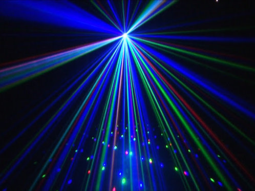 Starcluster Laser Effect