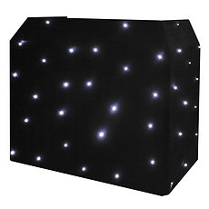 DJ Booth 4ft & Black or White Starcloth