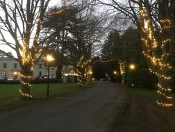 Fairy lighting penyard house.JPG