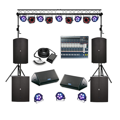 Ultimate Band Sound & Lighting Package