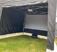 Party Tent Cinema Set up 2