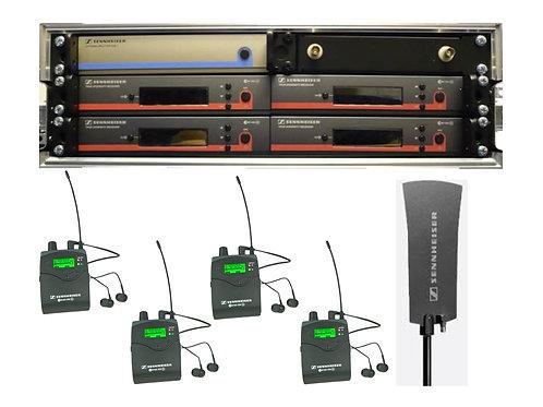Sennheiser EW300 Stereo IEM's 4 Rack