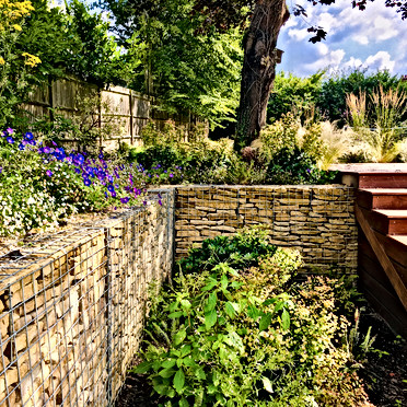 Terrace Garden Design Oxted
