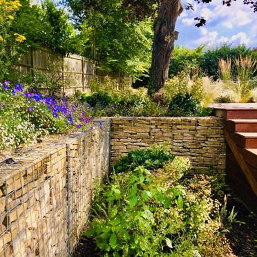 Terrace Garden Design Oxted