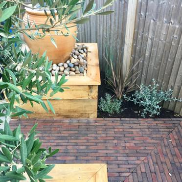 Mediterranean Courtyard Oxted Surrey