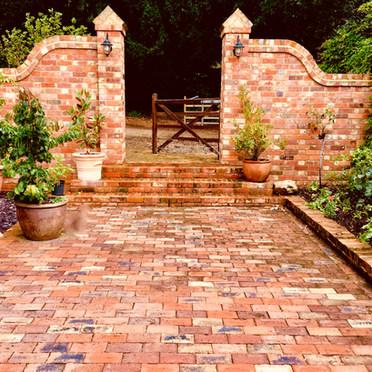 Walled Garden Design Berkshire
