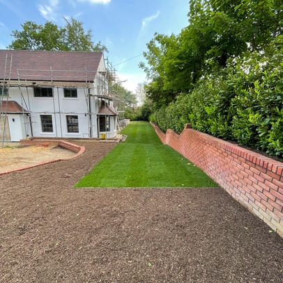 London Moor Park Private Estate - Design & Build Soft Landscaping