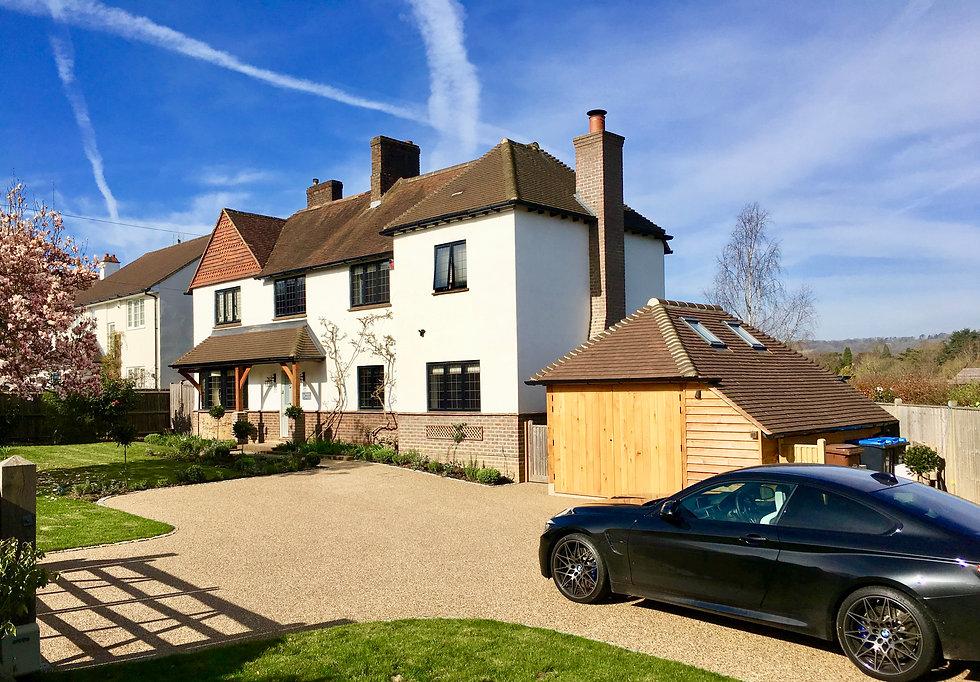 Front Driveway & Garden Design Oxted Sur
