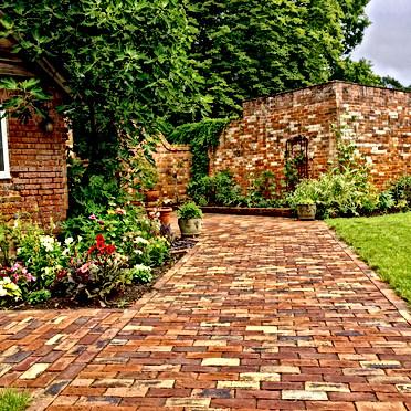 New Brickwork Walled Garden Design Berks