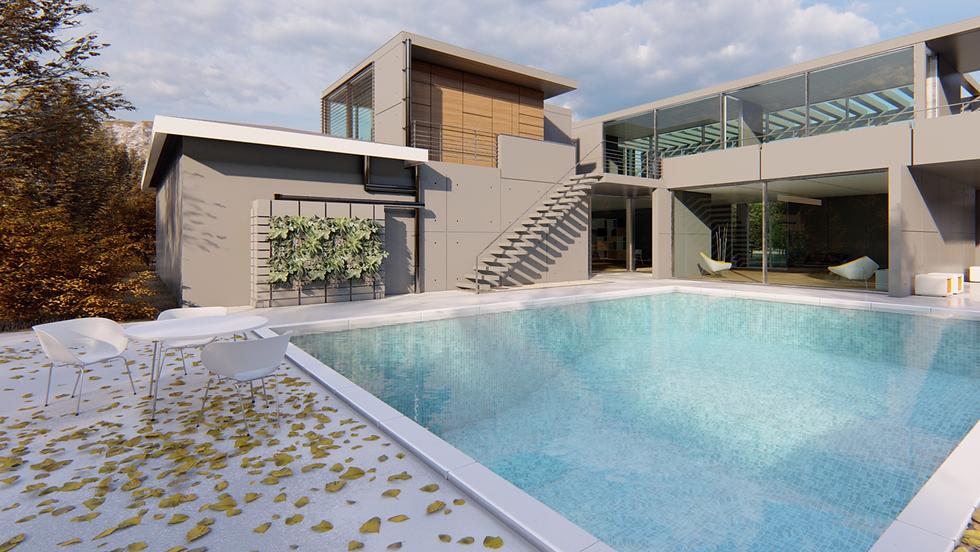 Rainwater Storage & Living Wall