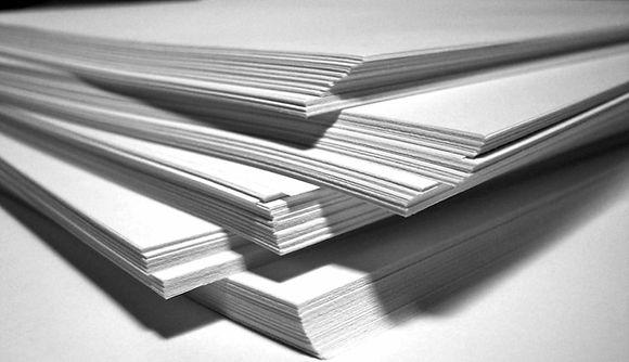 une très large gamme de papiers
