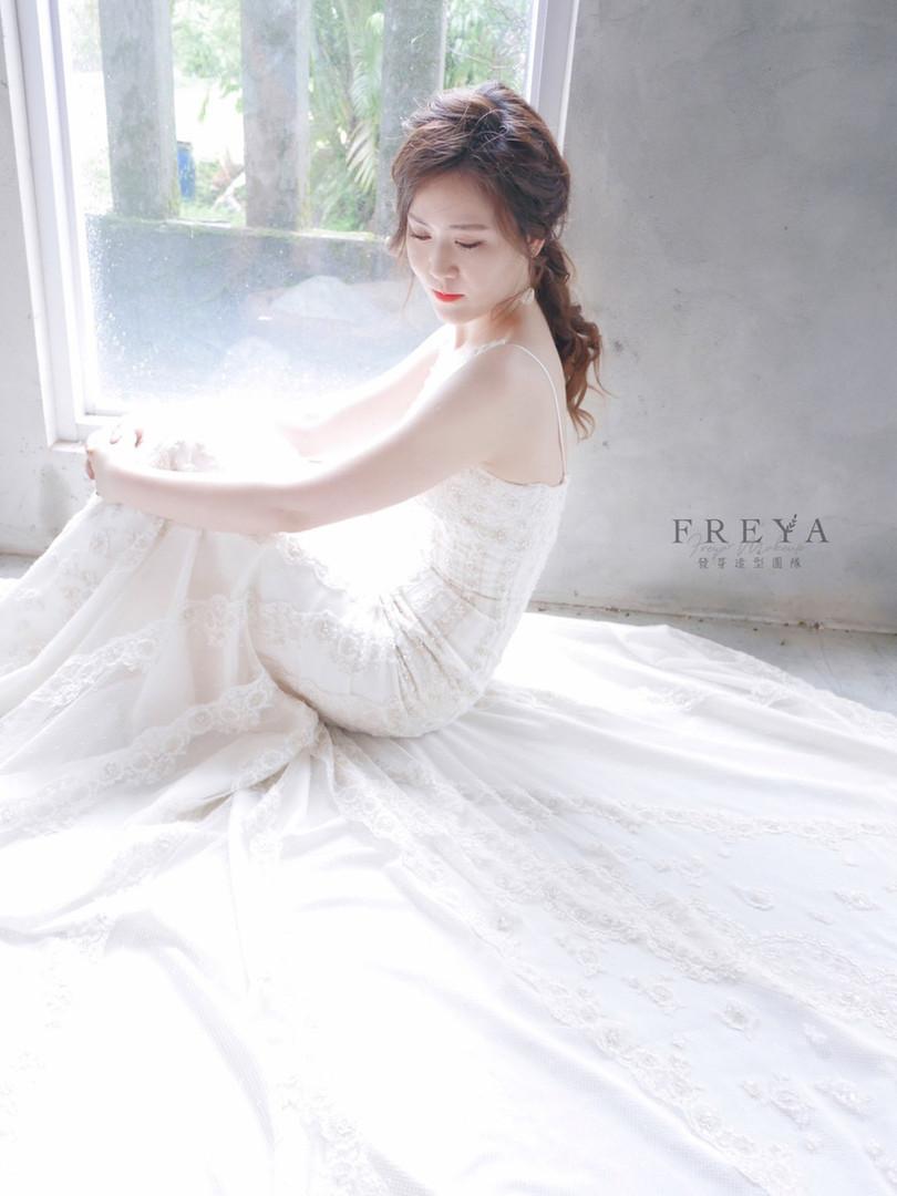 Freya婚禮現場作品