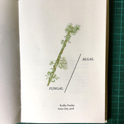 Algal/Fungal Title Page