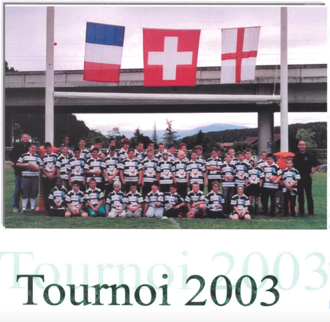 2003 Tournoi