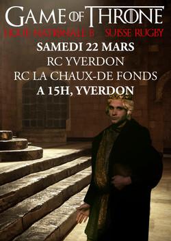 RC Yverdon - RC La Chaux-de-Fonds