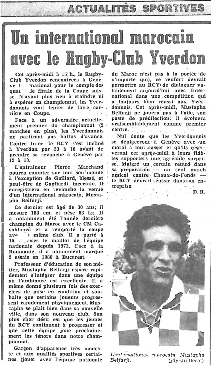 1981.03.07 RCY inter. marocain