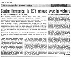 1980.05.19 RCY - RC HERMANCE