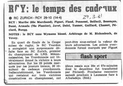 1981.03.29 1_4 finale RC ZURICH _ RCY
