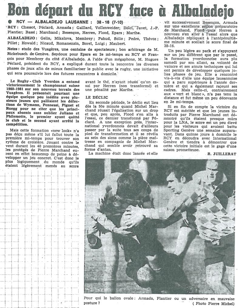 1980.09.13 RCY - RC ALBALADEJO