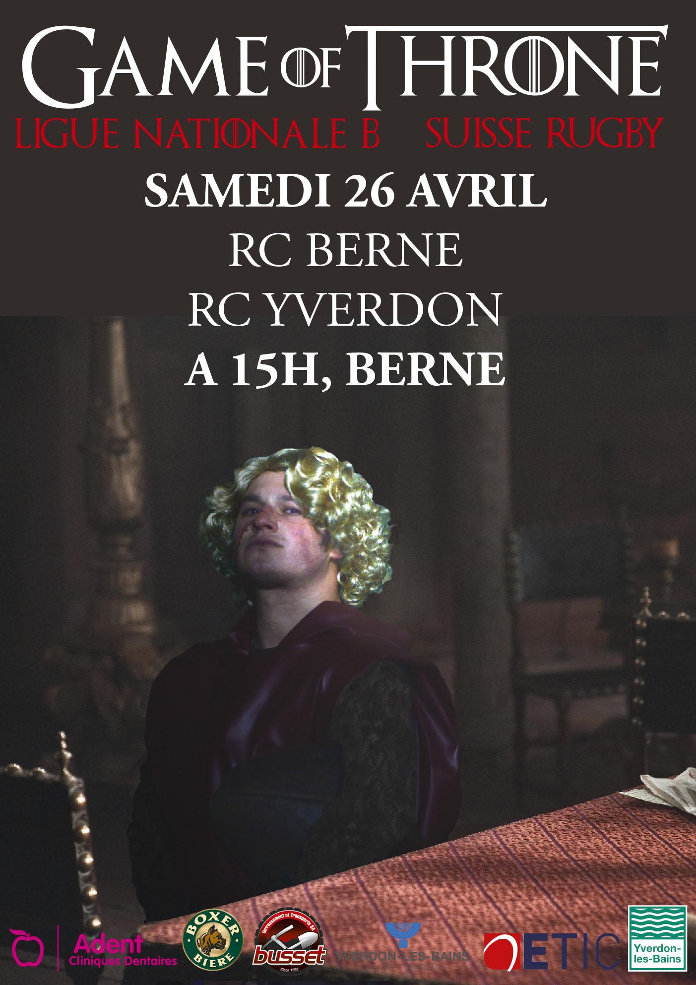 RC Berne - RC Yverdon