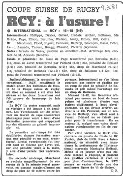 1981.03.09 RC INTERNATIONAL - RCY_ CS