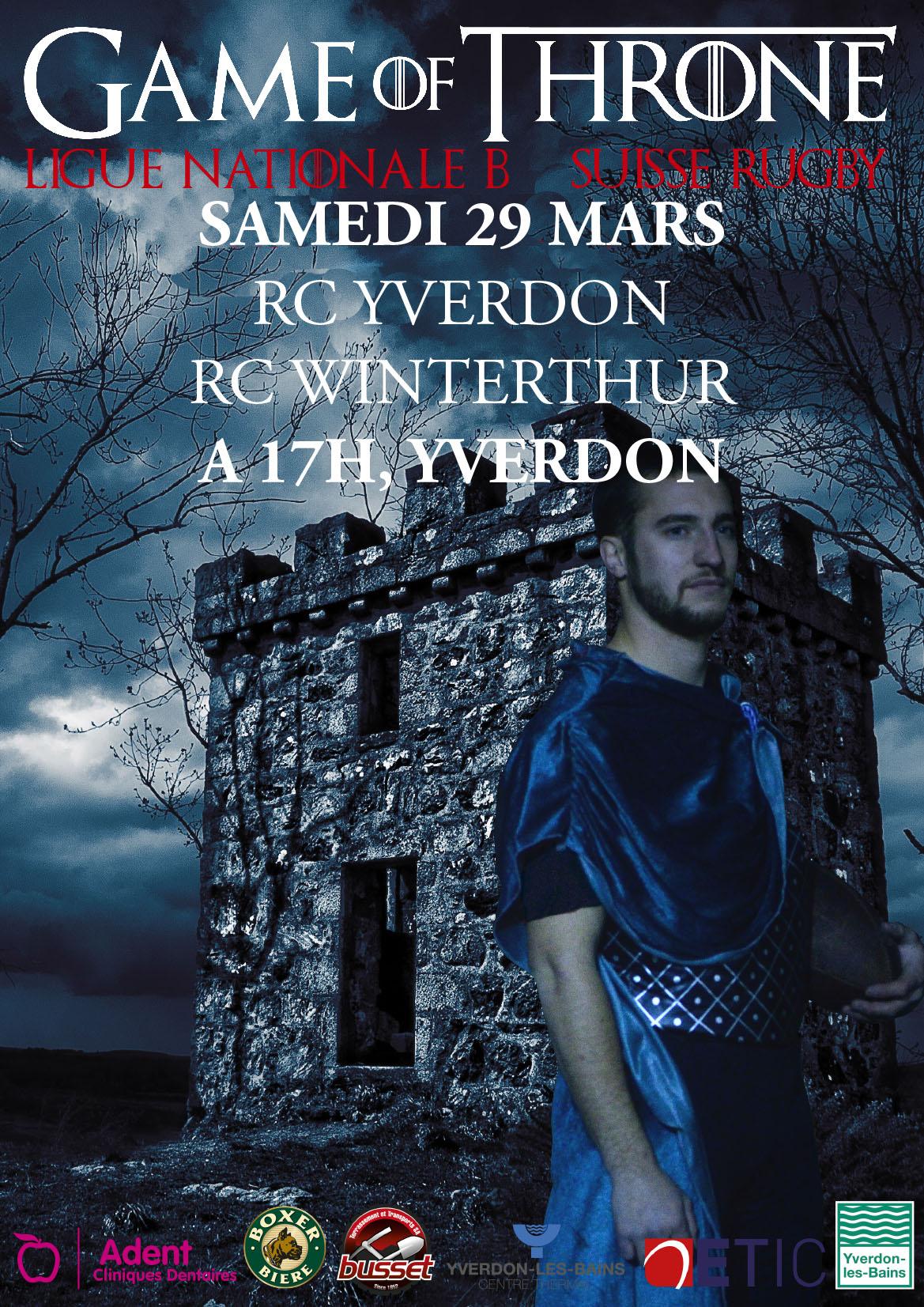 RC Yverdon - RC Winterthur
