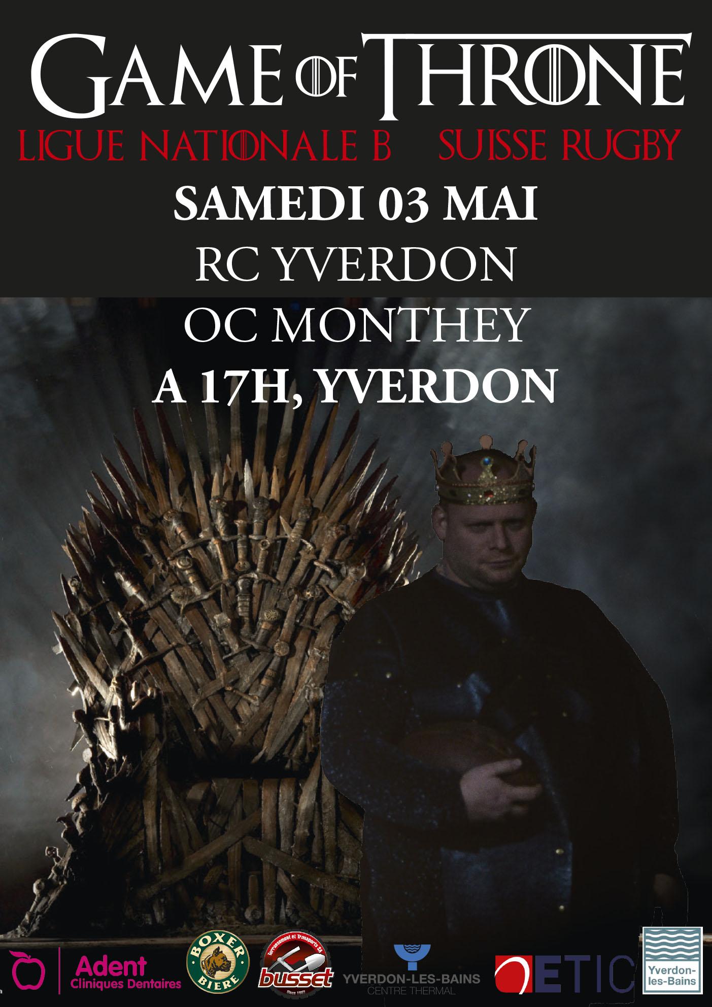 RC Yverdon - RC Monthey