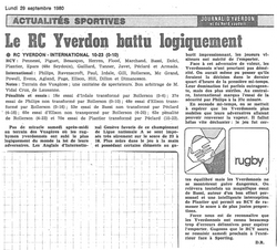 1980.09.29 RCY - RC INTERNATIONAL