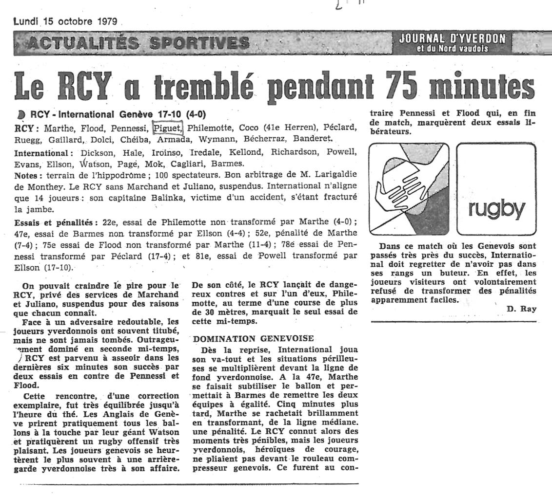 1979.10.15 RCY - RC INTERNATIONAL