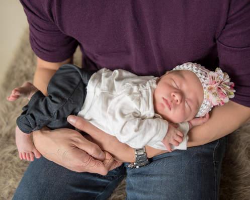 Calgary Newborn Photography Baby Girl